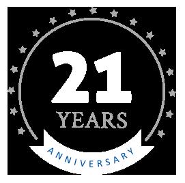 21 Years Annniversary