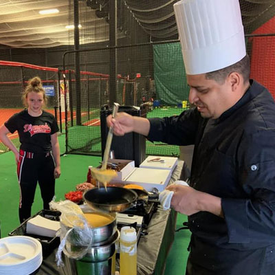 athletic event catering